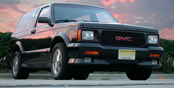 запчасти gmc typhoon